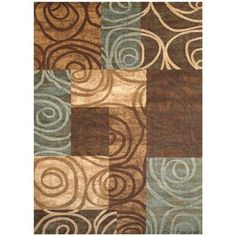 Rivington Rug in Chocolate. Would be perfect for my Living room!