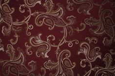 Burgundy Fabric Design