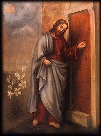St. Therese painted this for her sister Celine in 1892.