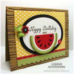 Watermelon Happy Birthday