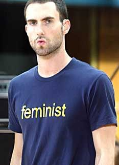 'Feminist Tee' by Matthew Josef (worn by Adam Levine)