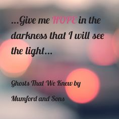 Ghosts that We Knew, Mumford and Sons