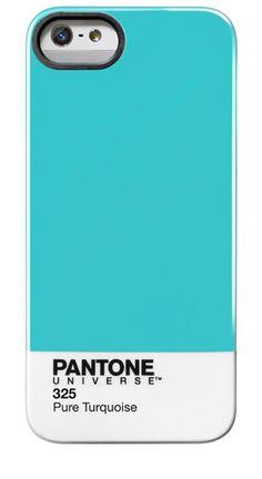 Pantone iPhone 5 Case in #325 Pure Turquoise.