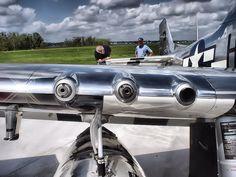 Three 50 Cal. Machine Guns on each wing.