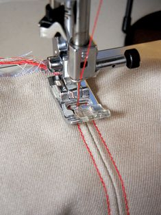E.C.B. (Especially Creative Broad): How (and why) to stitch in the ditch
