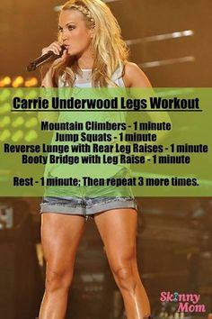 Carrie Underwood legs!