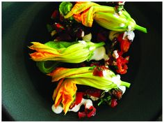 Matthew Kenney's Raw Express - Squash Blossom Tamales