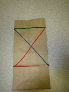 Touchstone Tidbits: Because we know that you're on the go! an easy on the go way to practice making diagonal lines.
