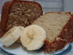 Receita de Bolo de banana no liquidificador - receita vinda direto da Bahia