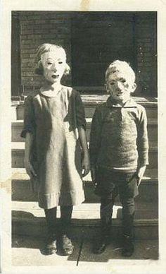 Vintage halloween....spooky indeed