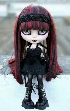 #Goth girl doll
