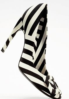B Stripes heels - I have an irregular choice pair similar to this, but I could always do with more shoes...