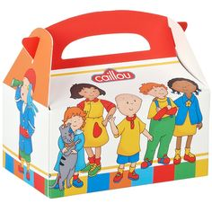 Caillou Empty Favor Box - 4 Count from PBS Kids Shop