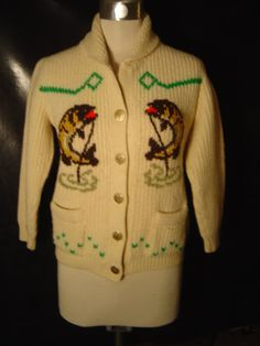 Vintage Tundra Orignal Sweater Made In Canada.