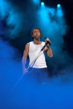 PAUL RODGERS of Bad Company fame. This man got better looking as he got older. One of the best voices in Rock.
