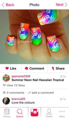 Download the FREE Nail Art Gallery app today! http://nailartgalleryapp.com