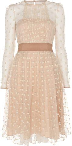 Alice By Temperley Beige Celia Dress designer dresses, fashion, cloth, style, alice temperley dress, closet, wear, black, celia dress