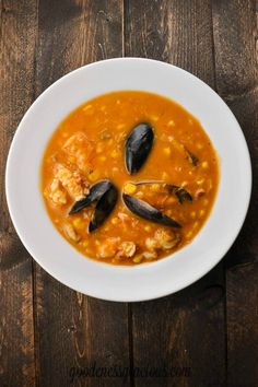 Easy Seafood Bisque - GOODEness Gracious