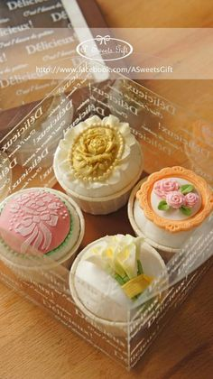 5 beautiful vintage wedding cupcake ideas