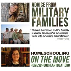 Military homeschooling families can face extra challenges in their educational journey, but homeschooling can also offer you the flexibility to thrive through moves, deployments, and the demands of military life. This week on Home School Heartbeat, three veteran homeschooling military parents offer insights into how they've made homeschooling work in their families.