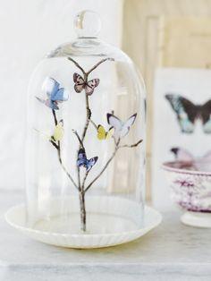 diy crafts, paper butterflies