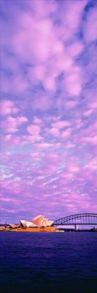 Sydney, Australia peter lik, sky, purple, australia travel, sunris, fine art photography, cloud, bridg, place