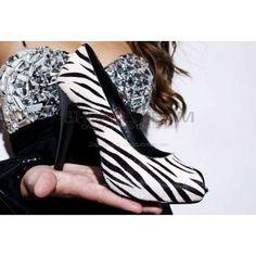 zebra shoes :)