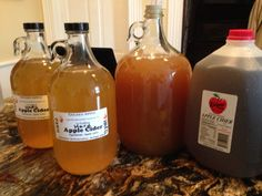 Hard Apple Cider, the easiest of all alcoholic drinks to make.