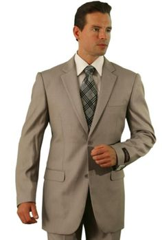 Poly/Rayon Men's Dark Tan affordable suit online sale Suit | MensITALY  Price: US $99