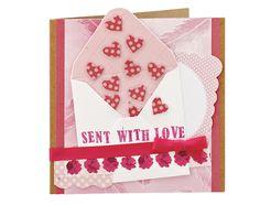 Gorgeous envelope card by @Julie Kirk We love it!