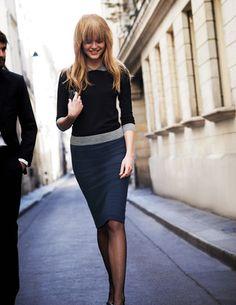 Breadwinner Skirt WQ062 Midi at Boden