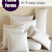 Pillow Insert Sizes - via @Craftsy