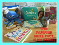 A Dry Baby is Happy Baby with Pampers #BabyGotMoves + Join our giveaway for a chance to win this awesome prize pack! #DDDivas #sponsored