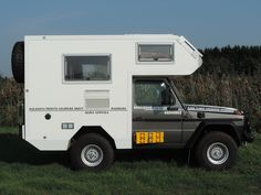 unusual truck campers on pinterest motorhome campers and truck cam. Black Bedroom Furniture Sets. Home Design Ideas