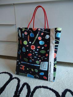 Bolsa de tela IKEA. Handmade.