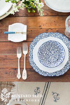 table setting | miss mustard seed