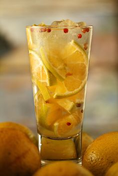 MUST make!!! Tangerine Caipirinha