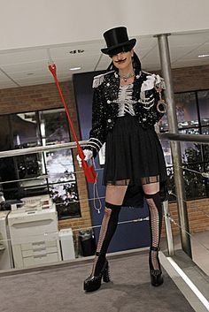 "NCIS. Abby's bachelor party outfit from ""Up in Smoke."" Love it!!!"