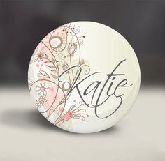 Personalized Pocket Mirror - $3.50. http://www.bellechic.com/products/13c9ab455a/personalized-pocket-mirror