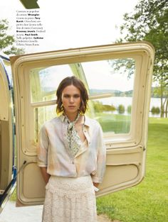 the tourist: claire collins by valerio spada for a anna 27th june 2013