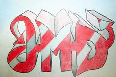 1-point perspective initials- grade 10