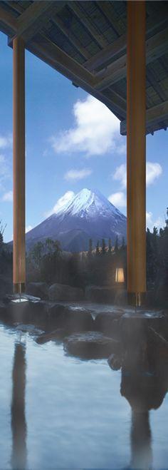 Mt. Fuji from the Pu