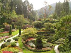 Victoria, Butchart Gardens