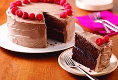 Because every celebration needs a Milk Chocolate-Raspberry Cake!