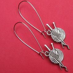 Have a Ball earrings on French wires. $7.00.  Perfect for you know who.  http://www.etsy.com/listing/109488418/have-a-ball#
