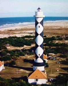 Farol de Albardão, Santa Vitoria do Palmar, Brazil