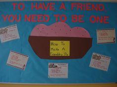 students write recipes using good friendship qualities