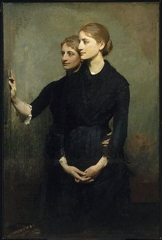 Abbott Handerson Thayer - The Sisters.