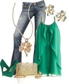 St. Patrick's Day outfit!