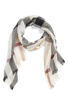 Burberry Check Scarf | Nordstrom